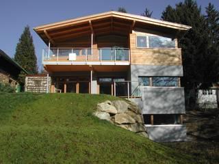 Südansicht:  Häuser von AR-GE Schackl