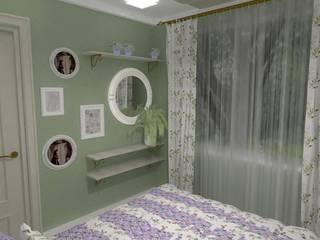 Dormitorios de estilo ecléctico de Частный дизайнер Мария Куреннова Ecléctico