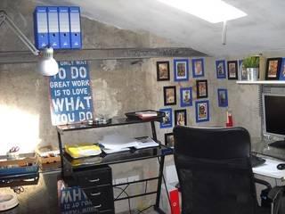 Рабочий кабинет в стиле лофт от A2architetti Лофт