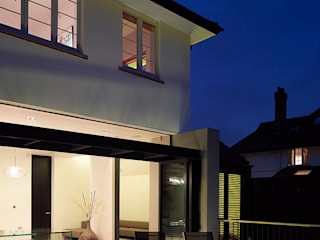 ​Sheen Lane, Exterior: modern Houses by BLA Architects