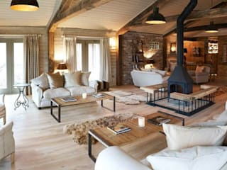 Fletcher's Cottage Spa Rustic style spa by Aitken Turnbull Architects Rustic