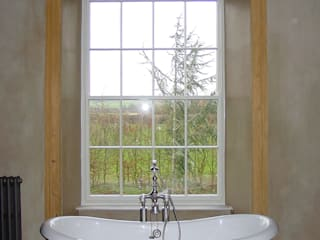 Churchill Heath Farm, Bathroom: country Bathroom by BLA Architects