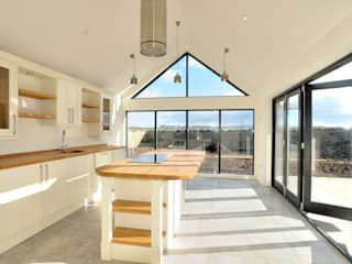 Birgham Haugh Country style kitchen by Aitken Turnbull Architects Country