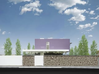 Minimalist house by EVA | evolutionary architecture Minimalist