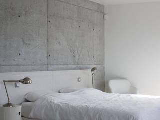 GUILLAUME DA SILVA ARCHITECTURE INTERIEURE의  침실