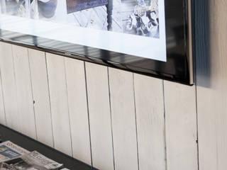 Bureau Black&White Espaces de bureaux minimalistes par GUILLAUME DA SILVA ARCHITECTURE INTERIEURE Minimaliste