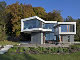 modern Houses by Kauffmann Theilig & Partner, Freie Architekten BDA