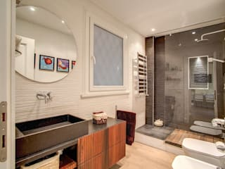 Modern bathroom by MOB ARCHITECTS Modern