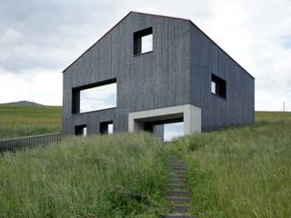 Holzkristall:  Häuser von Hurst Song Architekten