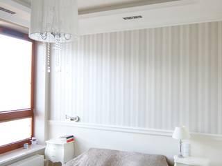 apartament Willanów livinghome wnętrza Katarzyna Sybilska Klasyczna sypialnia