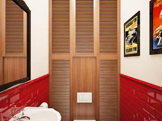 Гостевой санузел: Ванные комнаты в . Автор – Natalia Solo Design
