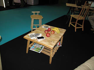 Table basse Création Châtaignier:  de style  par Création Châtaignier