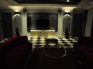KOMFORT I ELEGANCJA KLIMAT HOTELOWY livinghome wnętrza Katarzyna Sybilska Klasyczny salon