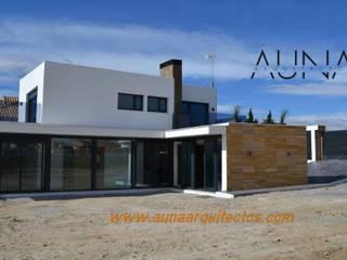 Varios Casas de estilo clásico de AUNA ARQUITECTOS, S.L. Clásico