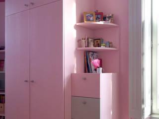 Chambre rose Bénédicte Mahé Derouet Chambre d'enfant rurale