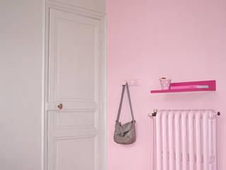 Chambre rose Bénédicte Mahé Derouet Chambre d'enfant coloniale