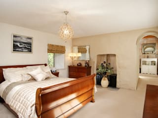 N Hastie Photography Residential selection.: country Bedroom by Niall Hastie | Photography
