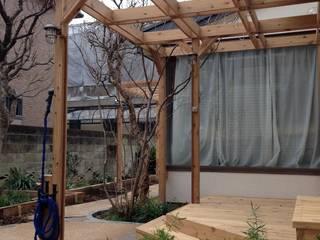 ガーデンリフォーム★荻窪: 株式会社アフロとモヒカンが手掛けた庭です。