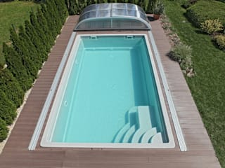 Pool + Wellness City GmbH Piscina in stile in stile classico
