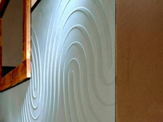 Raumbeispiele gestaltet mit Lehmspachtelputz oder Lehmfarben von Lesando Ausgefallene Praxen von Schmiedhaus - Ökologische Baustoffhandel - Lehmputz u.v.m. Ausgefallen