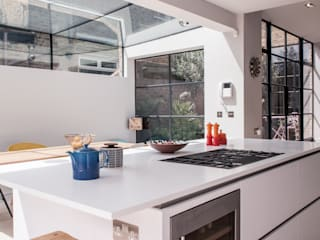 Friern Road, London Red Squirrel Architects Ltd Cocinas de estilo moderno