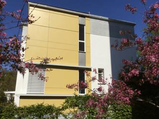 Extension Bois au Plessis Robinson -92350 Maisons modernes par B. MOTTUEL - Architecte dplg Moderne
