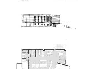Edificio per Logistica e Trasporti:  in stile  di PoliedroStudio srl