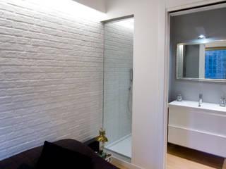 Loft CF_Manuela Tognoli Interiors: Camera da letto in stile  di Manuela Tognoli * Label201
