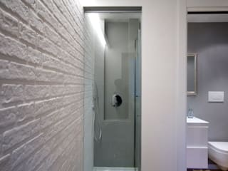 Loft CF_Manuela Tognoli Interiors: Bagno in stile  di Manuela Tognoli * Label201