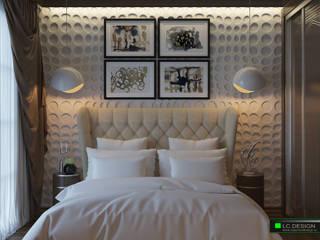 Квартира для отдыха в Болгарии: Спальни в . Автор – LC.DESIGN