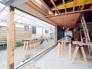 Offices & stores by 一級建築士事務所ageha., Rustic