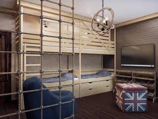 Детская комната: Детские комнаты в . Автор – PlatFORM