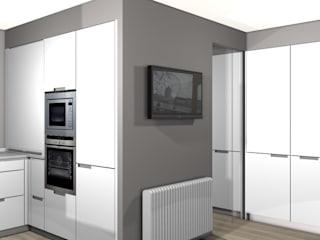 Modern kitchen by KITS INTERIORISME Modern