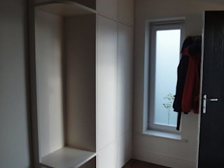 hall and window bay units:   by Arthan Furniture