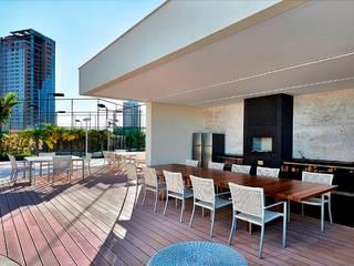 Modern balcony, veranda & terrace by Alessandra Contigli Arquitetura e Interiores Modern