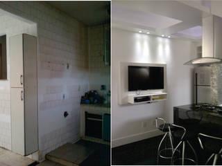 cozinha apartamento Laranjeiras:   por Margareth Salles