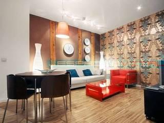 Living room by Javier Zamorano Cruz, Modern