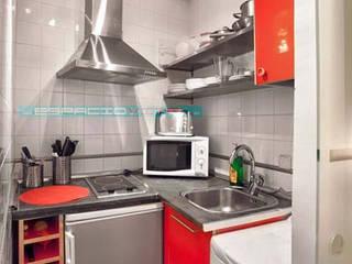 Asian style kitchen by Javier Zamorano Cruz Asian