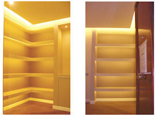 NicArch Modern corridor, hallway & stairs