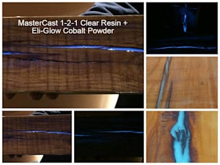 Transforming wood into a photo-luminescent work of art... の Eli-Chem Resins U.K Ltd