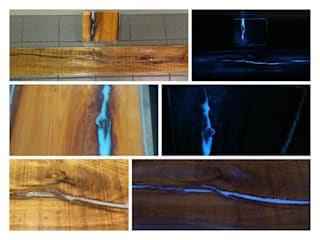 Transforming wood into a photo-luminescent work of art... Eli-Chem Resins U.K Ltd