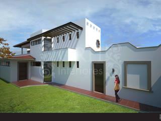 Casa Alzatí Casas coloniales de GRH Interiores Colonial