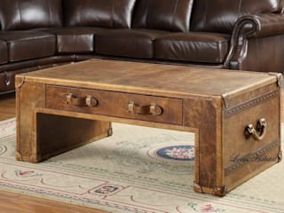 Vintage Style Coffee Tables Locus Habitat Living roomShelves