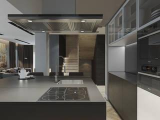 Cocinas de estilo minimalista de MC Interior Minimalista
