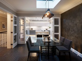 Silence in the City - Maisonette in Chelsea Modern Dining Room by Tyler Mandic Ltd Modern
