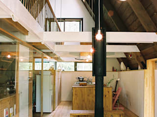 Skandynawski salon od スズケン一級建築士事務所/Suzuken Architectural Design Office Skandynawski