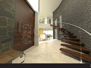 Modern Evler GRH Interiores Modern