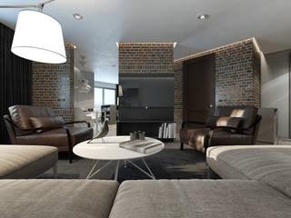 MC Interior Minimalistische Wohnzimmer