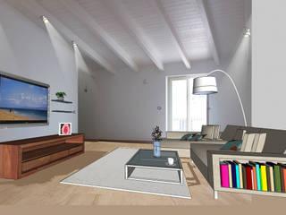 Area Living - Dopo:  in stile  di Lisa Natali Architetto
