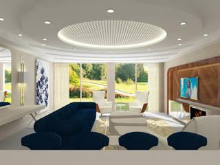 Inan AYDOGAN /IA Interior Design Office Modern living room